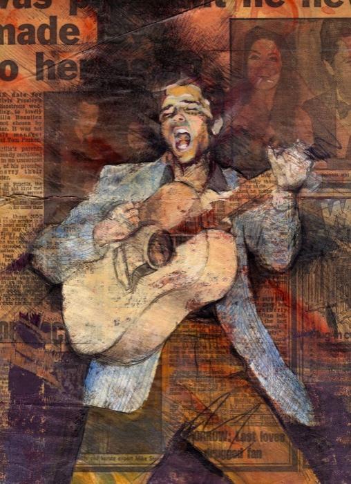 Elvis Presley par Spectrum